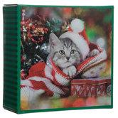 Kitten In Stocking Mini Puzzle