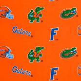 Florida Allover Collegiate Fleece Fabric
