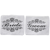 Bride & Groom Chair Sashes