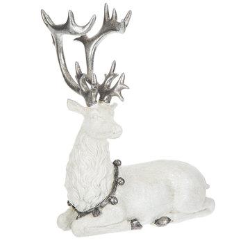 Resting Deer With Bells