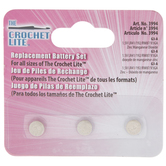 Crochet Lite Replacement Button Cell Batteries - G3-A