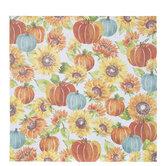 """Pumpkin & Sunflower Scrapbook Paper - 12"""" x 12"""""""