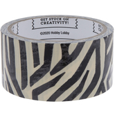 Zebra Print Art Project Tape