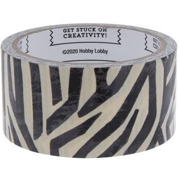 Zebra Print Art Project Tape