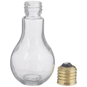 Light Bulb Glass Jar