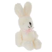 Miniature Plush Rabbit