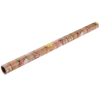 Floral Planks Gift Wrap