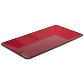 Red Rectangle Tray