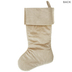 Gold Scroll Stocking