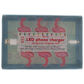 Light Up Flamingos iPhone Charger