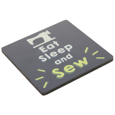 Sewing Wood Coaster