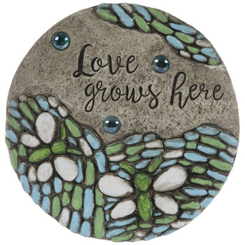 Love Grows Here Stepping Stone