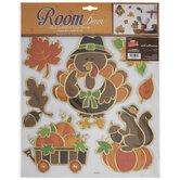 Thanksgiving Adhesive Wall Art