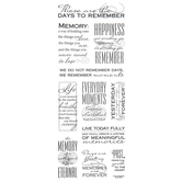 Memory Quotes Stickers