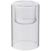 Glass Drop Candle Holder