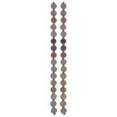 Iridescent Purple Glass Bead Strands