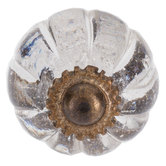 Scalloped Glass Knob
