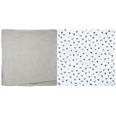Triangles Muslin Baby Blankets