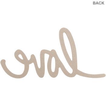 Love Handwritten Chipboard Shape - Large