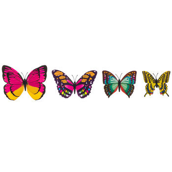 Butterflies 3D Adhesive Wall Art