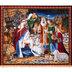 Nativity Panel Cotton Fabric