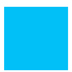 Bright Blue Bulletin Board Paper Roll