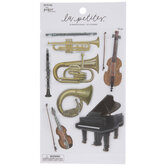 Orchestra 3D Stickers