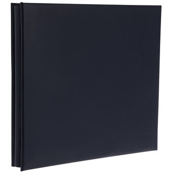 "Navy Leather Post Bound Scrapbook Album -  12"" x 12"""