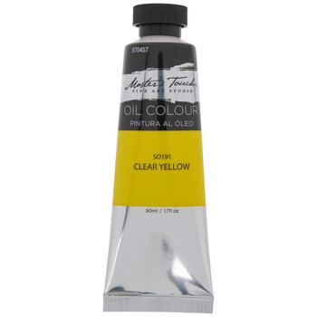 Clear Yellow Master's Touch Oil Paint - 1.7 Ounce