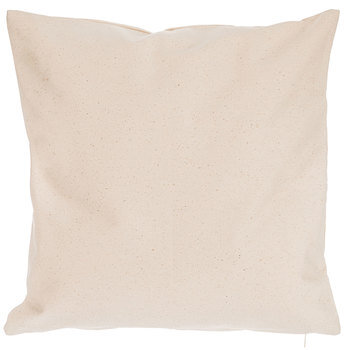 """Natural Canvas Pillow Cover - 18"""" x 18"""""""