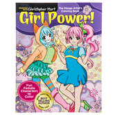 Girl Power Manga Coloring Book