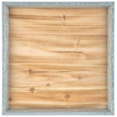 Square Wood Wall Decor with Frame