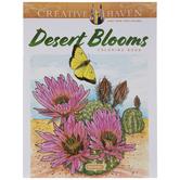 Desert Blooms Coloring Book