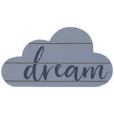 Dream Cloud Wood Decor