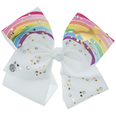 JoJo Siwa Rainbow Unicorn Bow Clip