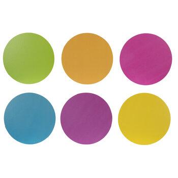 Neon Mini Circle Cutouts