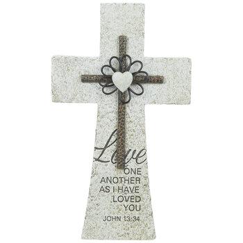 John 13:34 Wall Cross