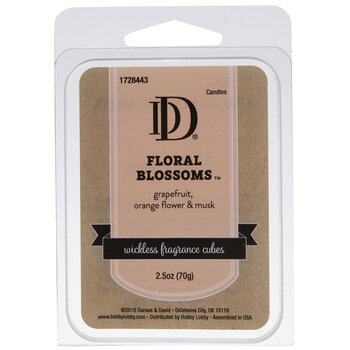 Floral Blossoms Fragrance Cubes