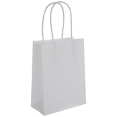 White Craft Gift Bags - Extra Small