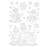 Snowmen & Snowflake Wall Adhesives