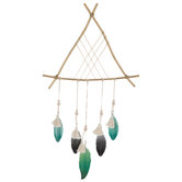 Teepee & Feather Metal Wall Decor