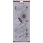 Maroon & White Essential Crafting Tools