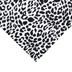 Black & White Leopard Print Felt Sheet