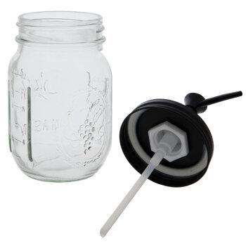 Mason Jar Glass Soap Dispensers