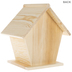 Traditional Pentagon Wood Birdhouse
