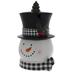 Snowman With Top Hat Cookie Jar
