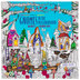 Zendoodle Gnomes In The Neighborhood Coloring Book