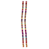 Multi-Color Dyed Disc Bead Strands