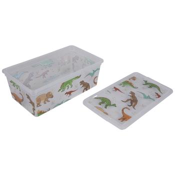 Dinosaur Print Container