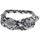 Snake Skin Print Headband